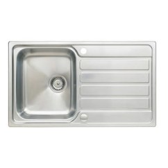 Kitchen Sink White Cork Flooring In Deals Buy From It Direct Stainless Steel 1 Bowl Reversible 860x500mm Taylor Moore
