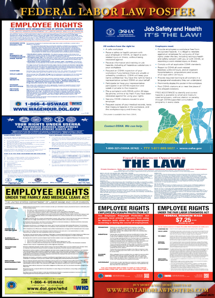 2017 federal labor law poster 12 87