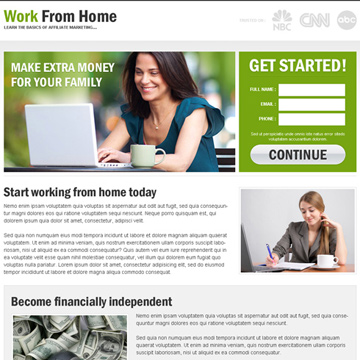 earn money by do work from home