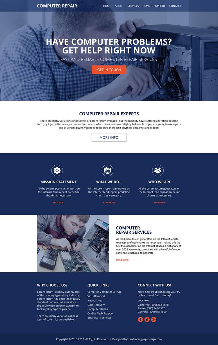computer-repair-services-html-website-01 | Computer Repair HTML Website Template preview.