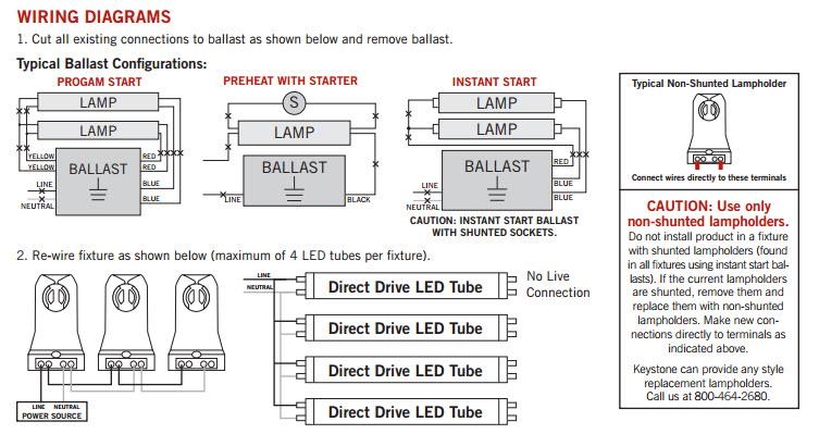 t5 ballast wiring diagram trane xl90 model keystone led t8 retrofit light bulbs - shop great prices and selection!