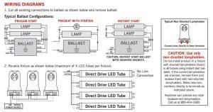 Keystone LED T8 retrofit light bulbs 8666371530