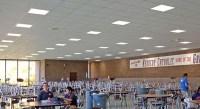 2X2 LED troffer grid light fixtures