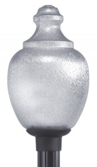 "Acorn polycarbonate 20"" inch globe incandescent light ..."