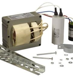 350 watt pulse start metal halide ballast kit for energy retrofit or replacement needs  [ 1275 x 941 Pixel ]