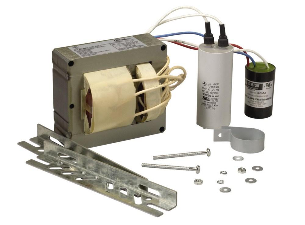 medium resolution of 350 watt pulse start metal halide ballast kit for energy retrofit or replacement needs