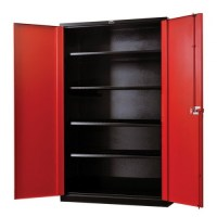 "Garage Storage Cabinet with Doors, 36"" Wide ..."