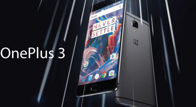 One Plus 3's specification and its comparison