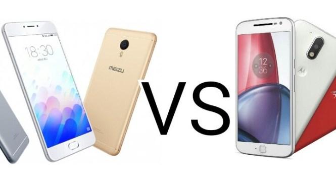 Comparison of Meizu M3 note VS Motorola Moto G4 Plus