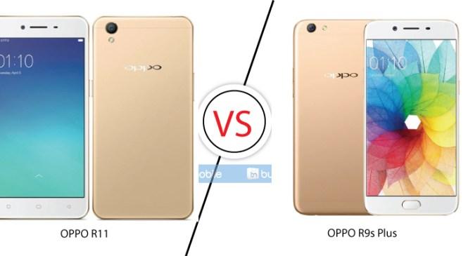OPPO R11 and OPPO R9s Plus Comparison