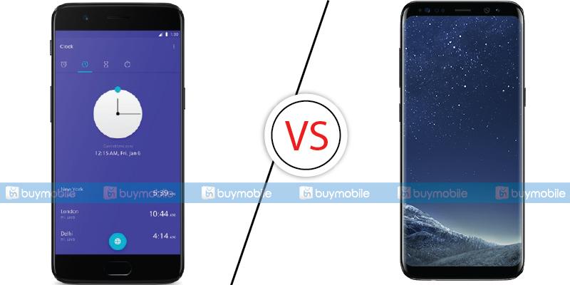 OnePlus 5 Comparison