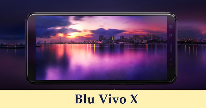 Full Specification Blu Vivo X Price Bangladesh