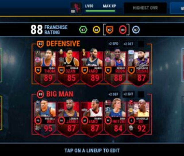 Nba Live Mobile Guide And Tips How To Refill Stamina And Get Nba Live Coins Fast
