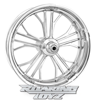 Performance Machine Custom Sportbike Wheels Chrome Plated