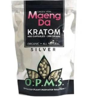 OPMS Silver Maeng Da Caps