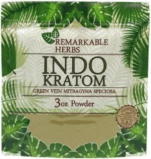 Remarkable Herbs Indo Kratom 3oz