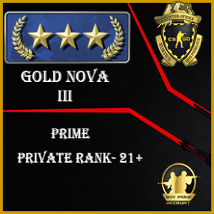 Gold nova prime accounts