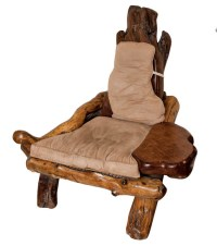 Redwood Furniture Showcase - A Rustic Redwood Chair   Buy ...
