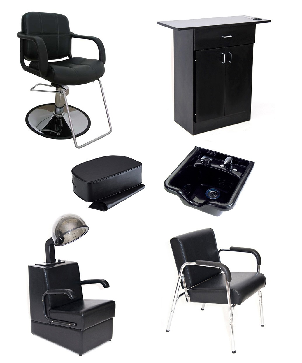 beauty salon chairs for sale how to make a wooden chair seat equipment packages package deals from buy rite 1 operator basic products