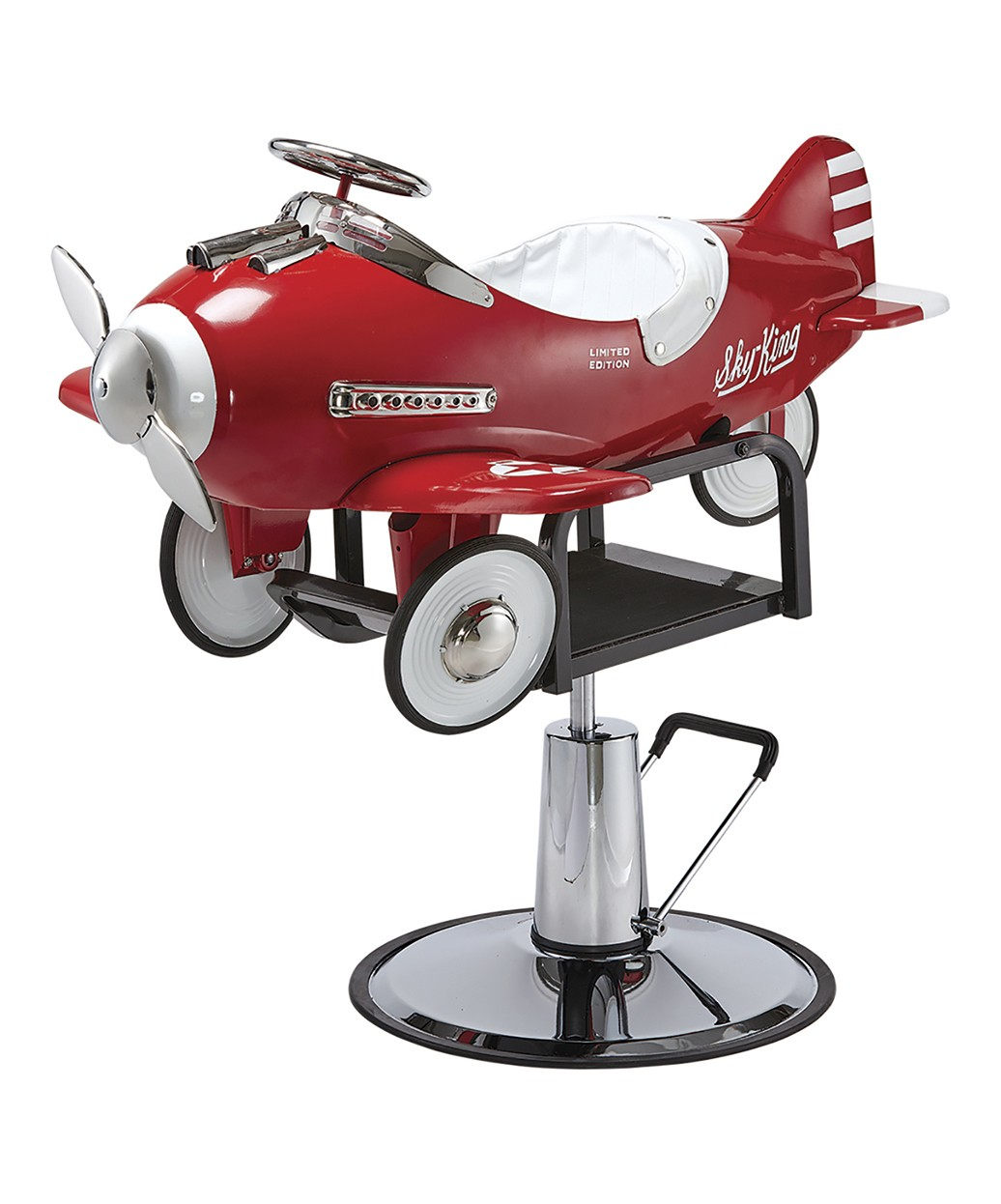 kids salon chair leather chairs pibbs 1810 airplane styling
