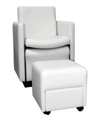 Collins 2550 Cigno Club Pedicure Chair w/ Footsie Bath