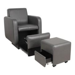 Pedicure Chair Manufacturers Metal Legs Uk Collins 2555 Blush Club W Footsie Bath