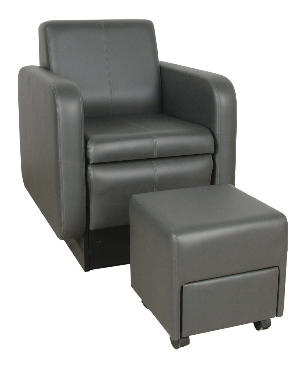 Collins 2555 Blush Club Pedicure Chair w footsie Bath