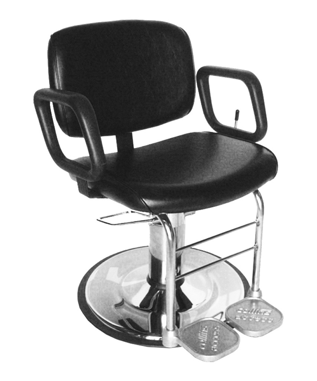 white multi purpose salon chair high stool dimensions collins 7710 all for waxing threading