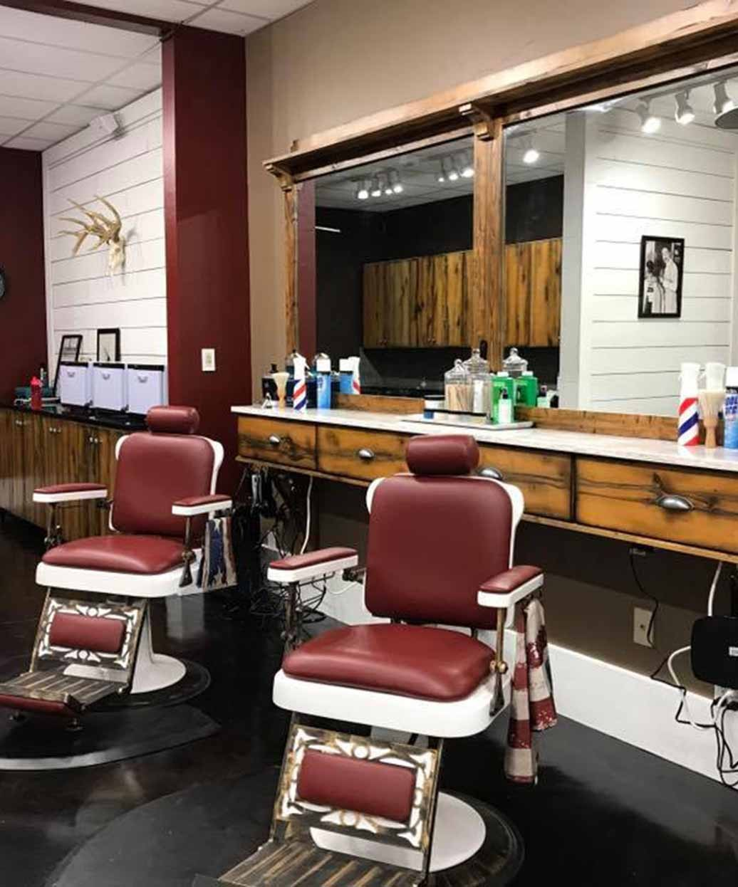 ez chair barber shop tables and rental classic antique pibbs 662 king