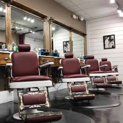 Ez Chair Barber Shop Picnic Time Stadium Classic And Antique Pibbs 662 King