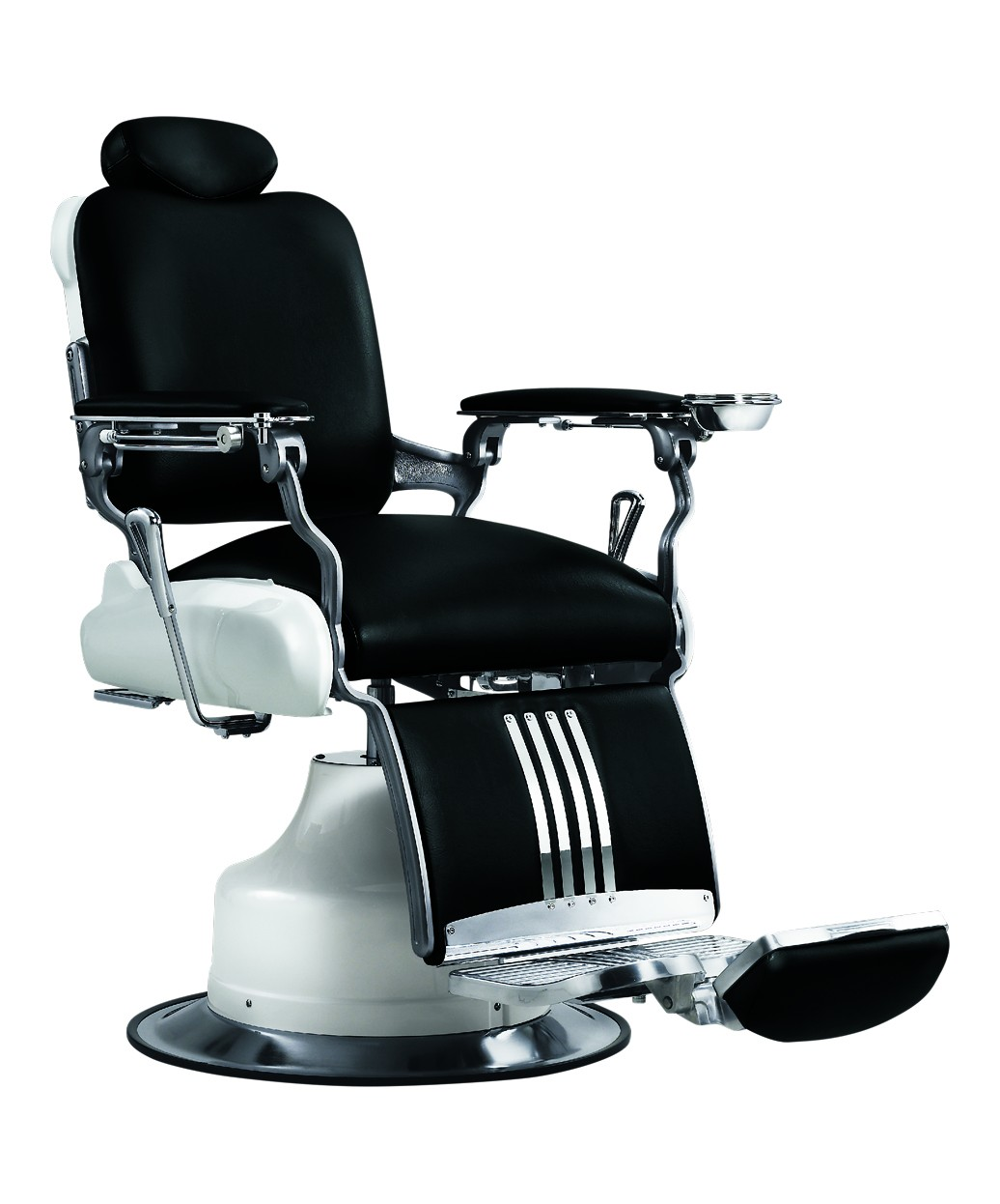 black white barber chair ashley furniture kitchen chairs takara belmont koken legacy red and