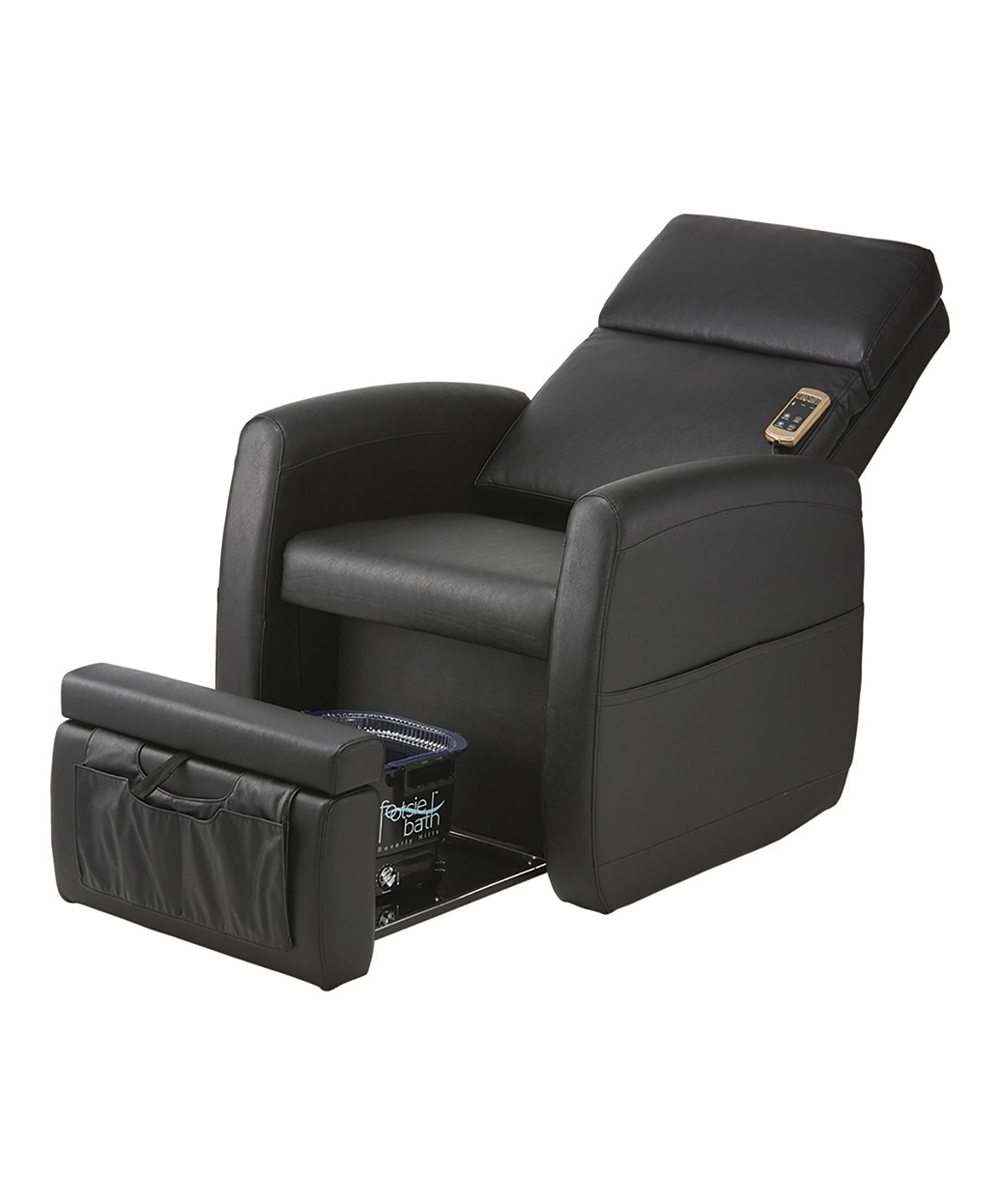 used no plumbing pedicure chair student desk combo spa chairs portable pipeless pibbs ps9 lounge w vibration massage