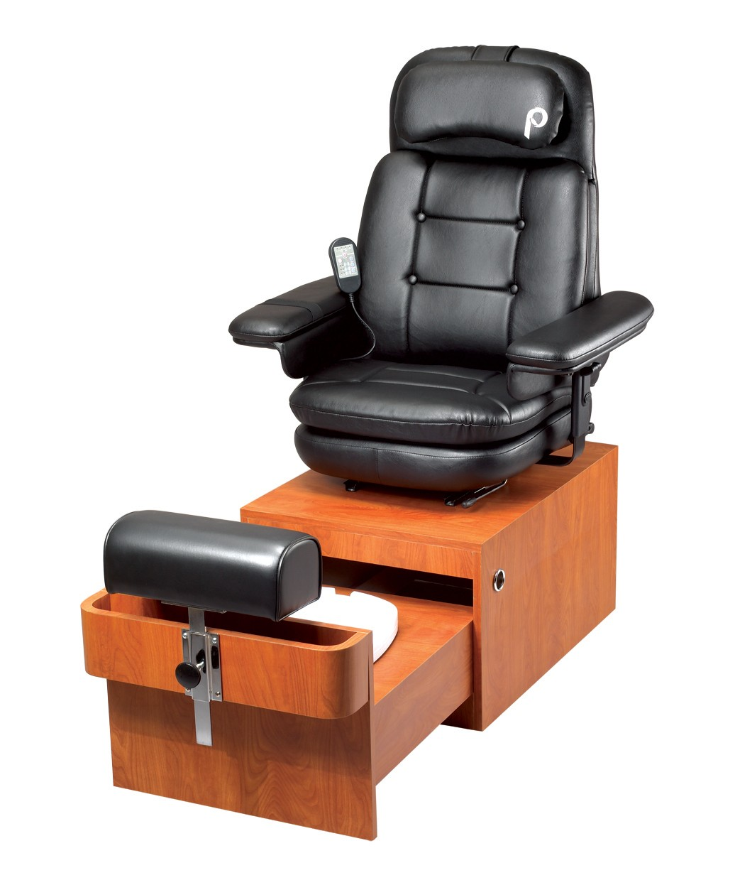 used no plumbing pedicure chair black folding pibbs ps89 amalfi spa from buy rite