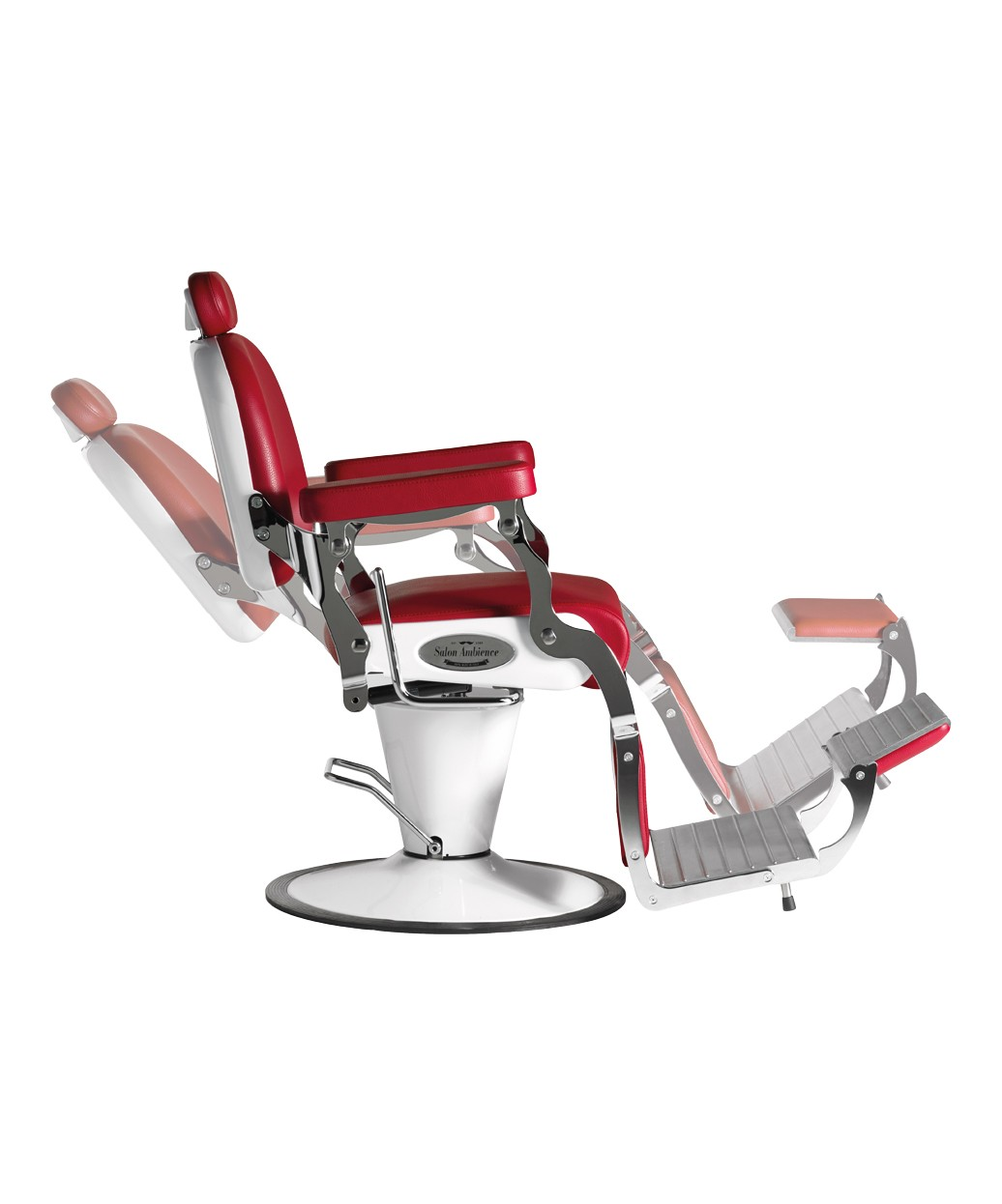 old school barber chair used ivory covers for sale salon ambience sh277 6 premier italian