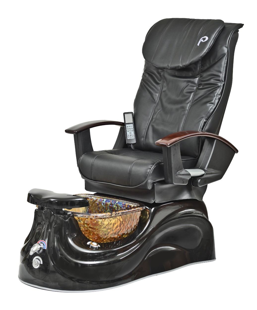 pedicure chairs used best inc recliner pibbs ps65 san marino pipeless spa w glass bowl