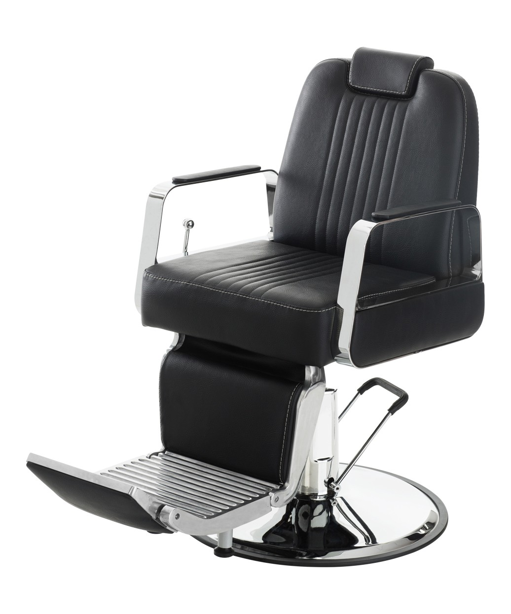 Lenox Professional Adjustable Barber Chair with Headrest