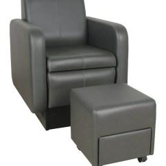 Pedicure Chairs Parts Wicker Chair Cushions Collins 2555 Blush Club W/ Footsie Bath