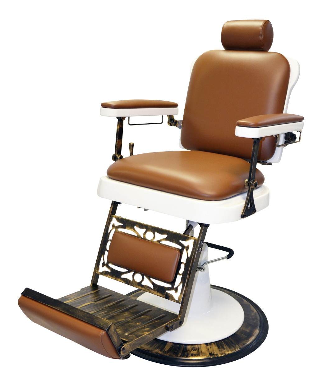 Classic  Antique Barber Chair Pibbs 662 King Barber Chair