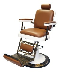Classic & Antique Barber Chair: Pibbs 662 King Barber Chair