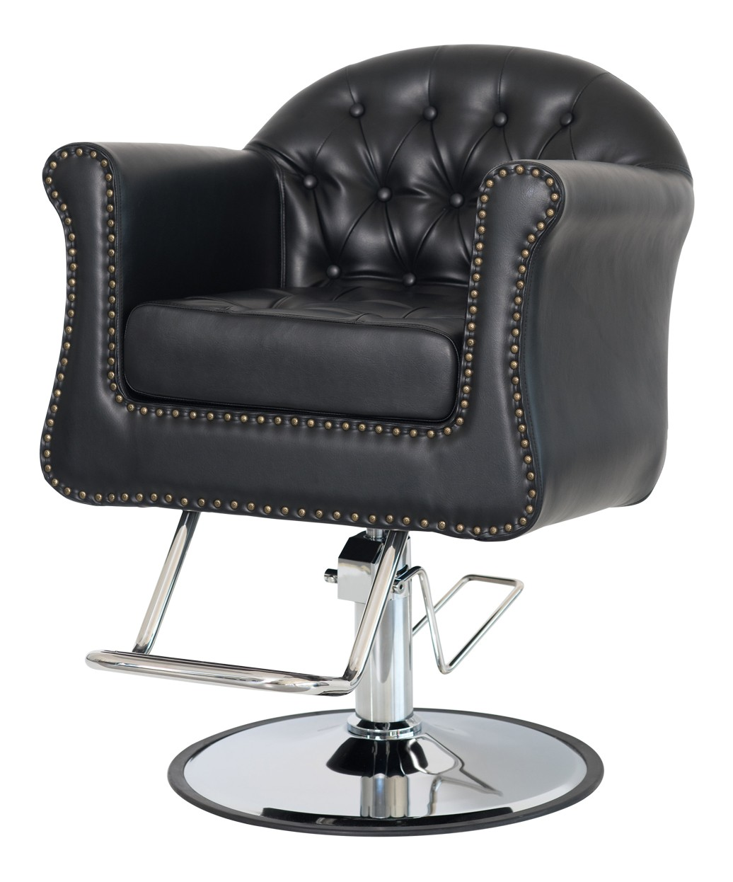 salon chair folding rental chicago brooklyn styling cushioned