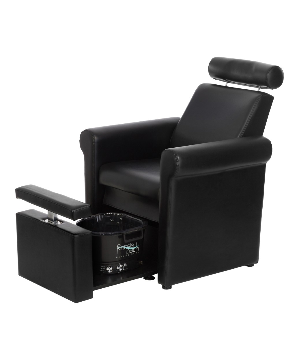 portable pedicure chairs patio chair with ottoman stool footrest mona lisa