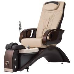 Pedicure Chairs Parts Teal Fur Saucer Chair Continuum Echo Le Spa