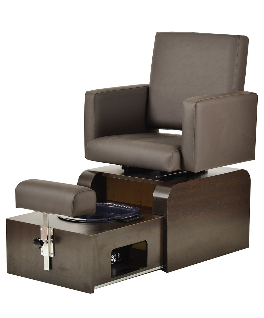 used no plumbing pedicure chair desk attached to pibbs ps10 san remo footsie spa