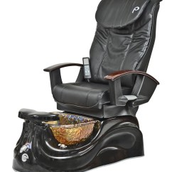 Massage Chair Portable Dining Cushions Kmart Pibbs Ps65 San Marino Pipeless Pedicure Spa W/ Glass Bowl & Shiatsu