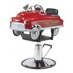Kids Salon Chair And A Half Glider Rocker Chairs Booster Seats For Pibbs 1804 Fire Truck Kid S Styling