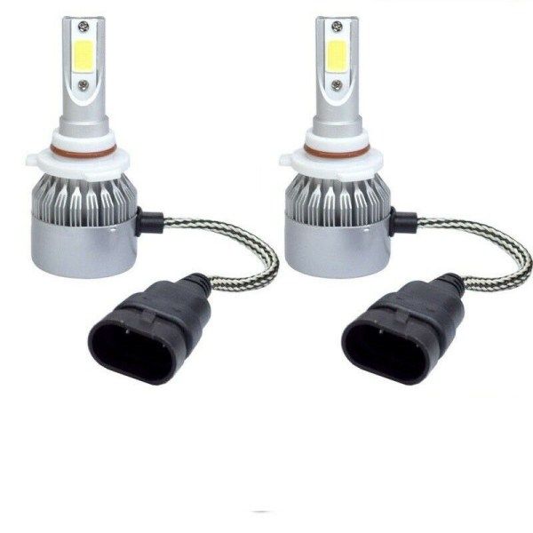 Damon Tuscany Upgraded LED High Beam Headlight Bulbs Pair (Left & Right)