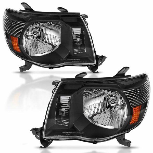 Winnebago Adventurer Performance Black Headlights Unit Pair (Left & Right)