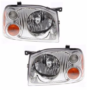 Tiffin Allegro Bus Replacement Headlight Assembly Pair (Left & Right)