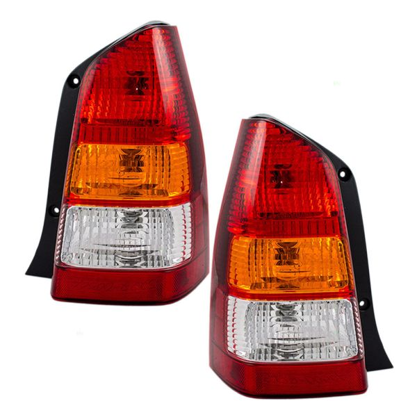 Coachmen Cross Country SportsCoach Replacement Tail Light Lens & Housing Pair (Left & Right)