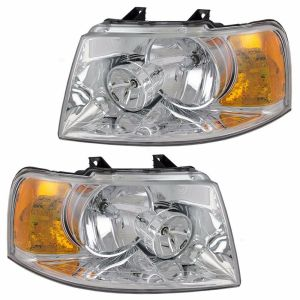 Damon Outlaw Headlight Head Lamp Assembly Pair (Left & Right)